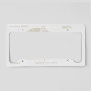 Turntable License Plate Holder