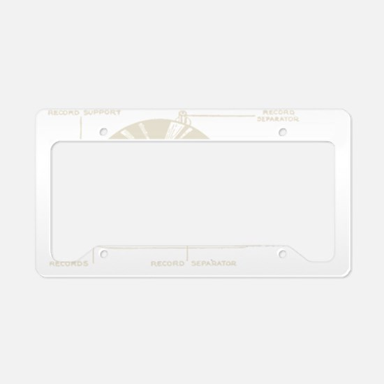 Turntable License Plate Holder