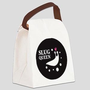 Slug Queen Logo Canvas Lunch Bag