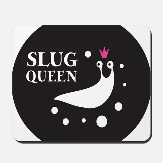 Slug Queen Logo Mousepad