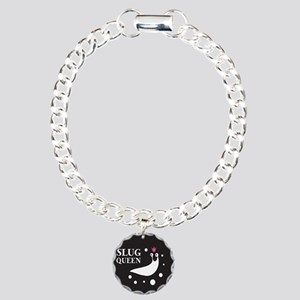 Slug Queen Logo Charm Bracelet, One Charm