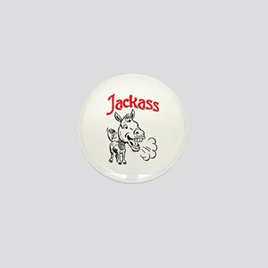 JACKASS Mini Button
