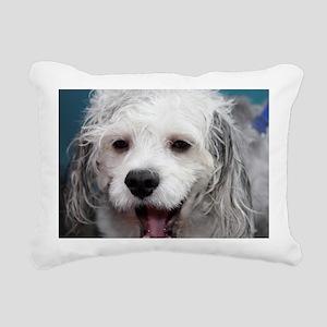 Laughing Yogi Rectangular Canvas Pillow