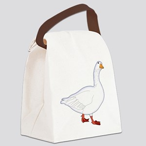 White Goose Canvas Lunch Bag