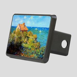 Claude Monet Fisherman Cot Rectangular Hitch Cover