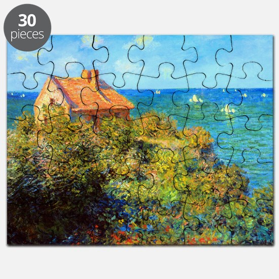 Claude Monet Fisherman Cottage Puzzle