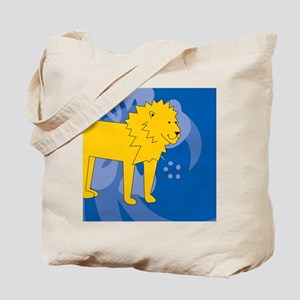 Lion Gel Mousepad Tote Bag