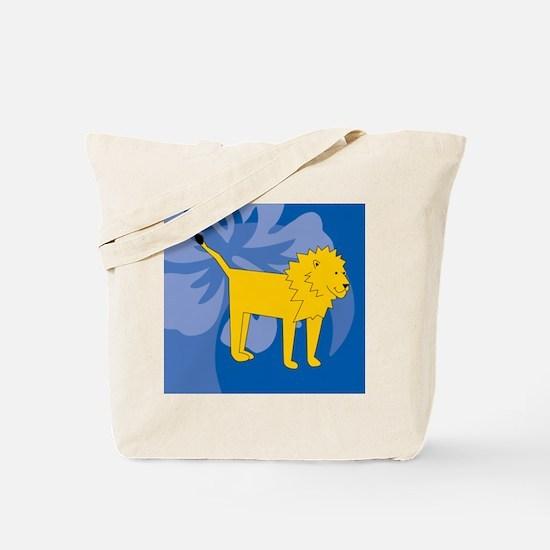 Lion Beer Label Tote Bag