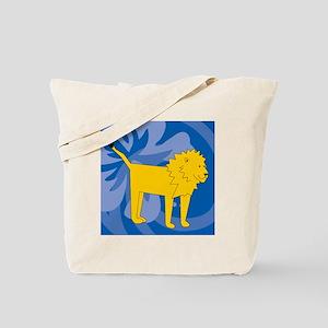 Lion Queen Duvet Tote Bag