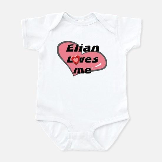 elian loves me  Infant Bodysuit