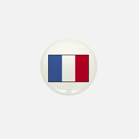 France - French Flag Mini Button
