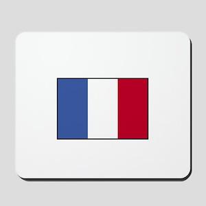 France - French Flag Mousepad