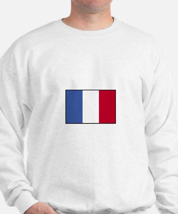 France - French Flag Sweatshirt
