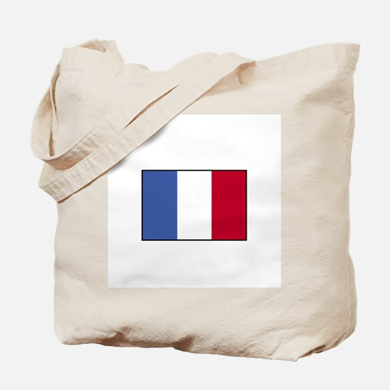 France - French Flag Tote Bag