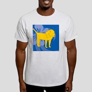 Lion Square Coaster Light T-Shirt
