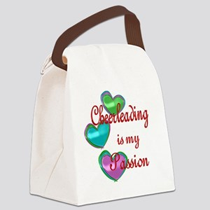 Cheerleading Passion Canvas Lunch Bag