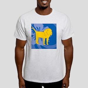 Lion Square Car Magnet Light T-Shirt