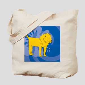 Lion Snowflake Ornament Tote Bag