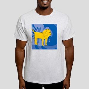 Lion Snowflake Ornament Light T-Shirt