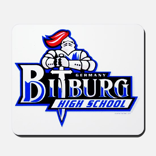 Bitburg High School Shop of Alumni Stuff Mousepad