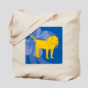 Lion Puzzle Coasters Tote Bag