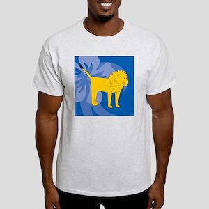 Lion Puzzle Coasters Light T-Shirt