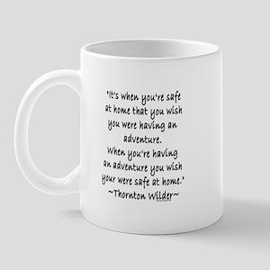 Thornton Wilder Mug