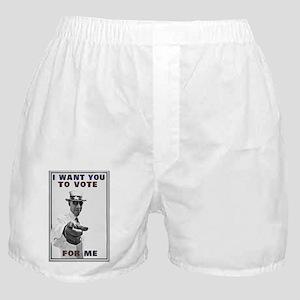 I want you to vote for Barack Obama Boxer Shorts