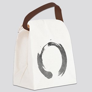 Enso Circle - Zen Canvas Lunch Bag