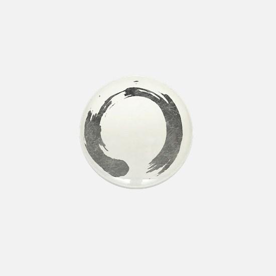 Enso Circle - Zen Mini Button