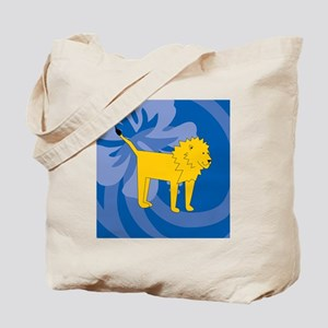 Lion Sticky Notepad Tote Bag