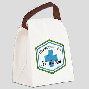 Telluride Ski Patrol Patch Canvas Lunch Bag