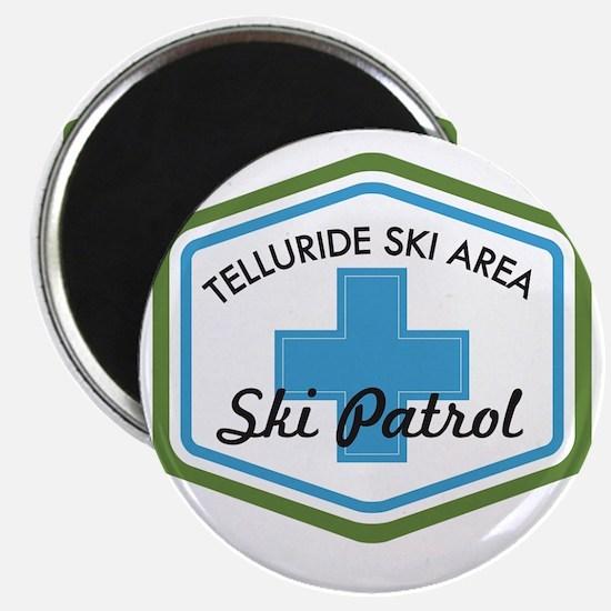 Telluride Ski Patrol Patch Magnet
