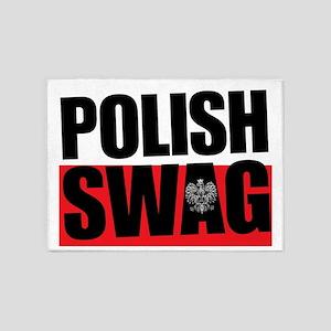 Polish Swag - 2012 5'x7'Area Rug