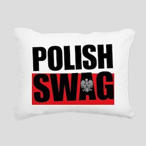 Polish Swag - 2012 Rectangular Canvas Pillow