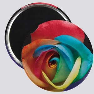Rainbow Rose Magnet