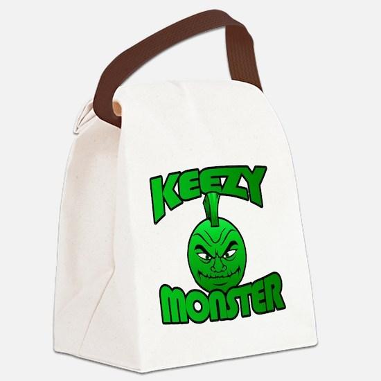 Keezy Monster Canvas Lunch Bag