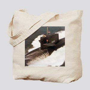 sp uss henry l stimson small poster Tote Bag