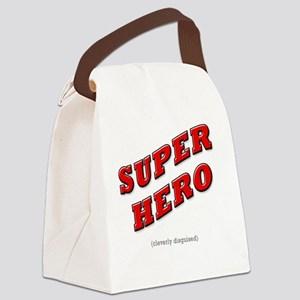 Super Hero - Cleverly Disguised Canvas Lunch Bag