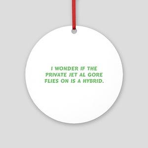 Gore Hybrid Jet Ornament (Round)