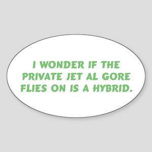 Gore Hybrid Jet Oval Sticker