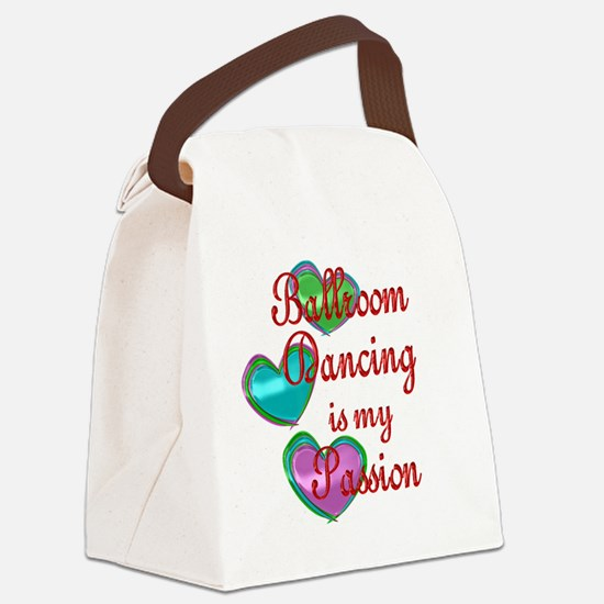 Ballroom Dancing Passion Canvas Lunch Bag