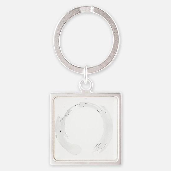 Enso Circle - Zen Square Keychain