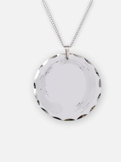 Enso Circle - Zen Necklace Circle Charm