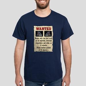 Woman Wanted Dark T-Shirt