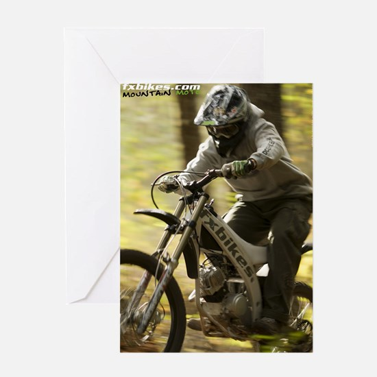 FX Bikes Forest Greeting Card