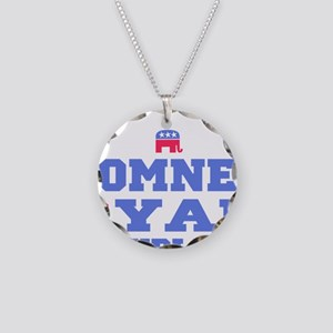 Romney Ryan Republican 2012 Necklace Circle Charm