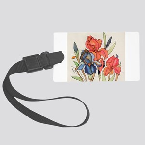 IRIS FLOWER Luggage Tag