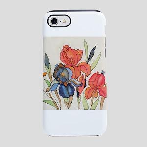 IRIS FLOWER iPhone 7 Tough Case