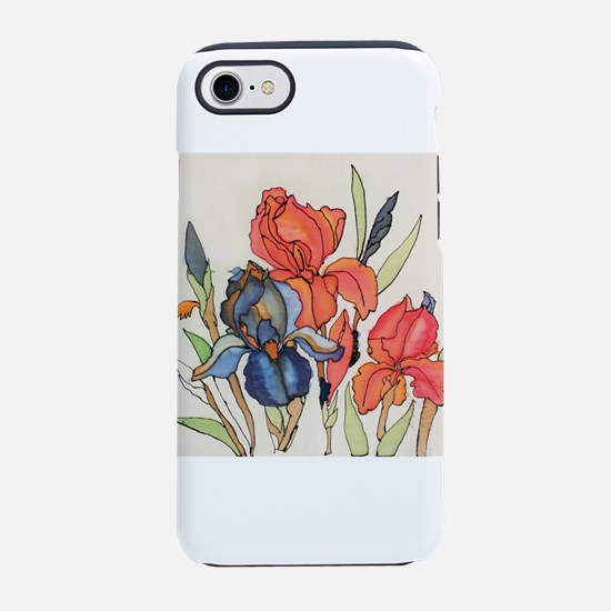 IRIS FLOWER iPhone 7 Tough Case